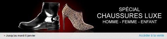 vente privee chaussures luxe
