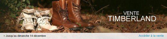 vente privee chaussures timberland