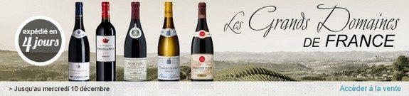 vente privee grands vins france