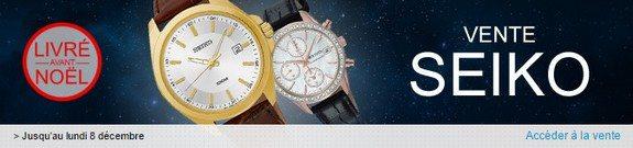 vente privee montres seiko