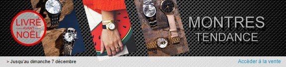 vente privee montres tendance