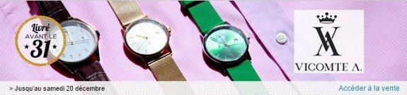vente privee montres vicomte A