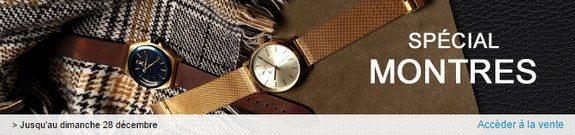 vente privee spéciale montres