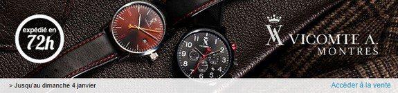 vente privee vicomte a montres