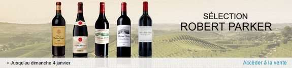 vente privee vins robert parker
