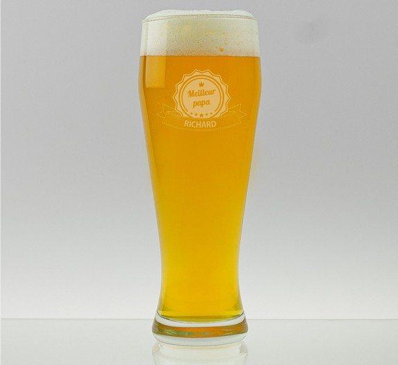 verre a biere personnalisable