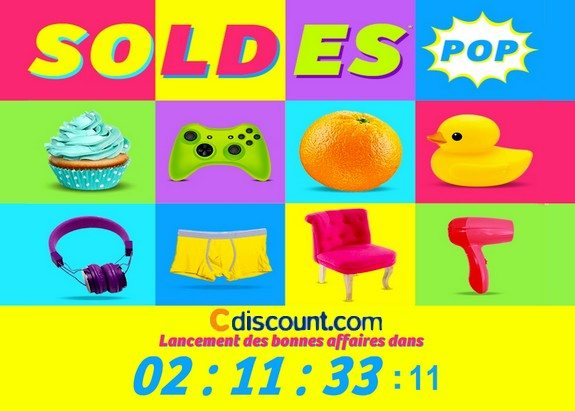 page maintenance soldes hiver 2015 cdiscount