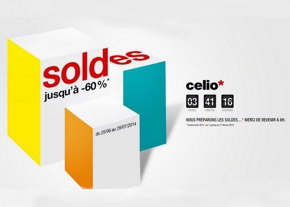 page maintenance soldes hiver 2015 celio