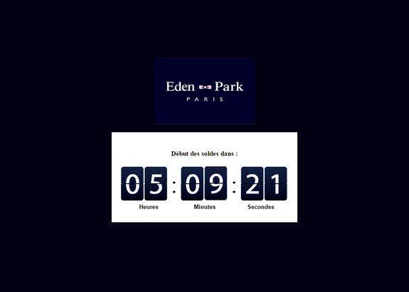 page maintenance soldes hiver 2015 eden park