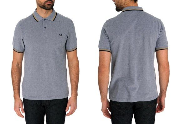 polo fred perry manches courtes