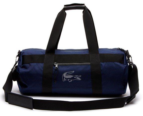 sac de sport lacoste bleu tie break