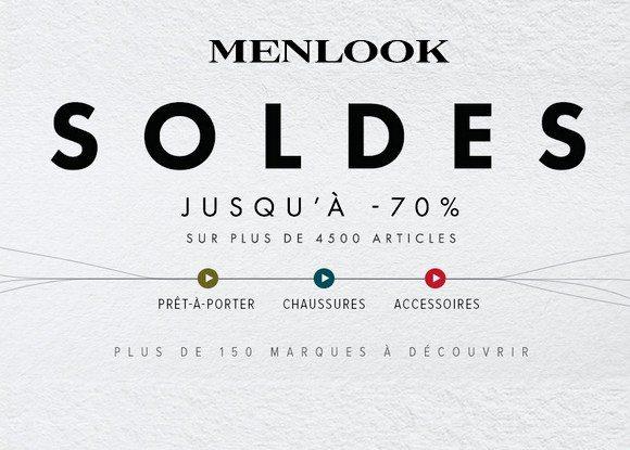 Soldes Menlook 2015
