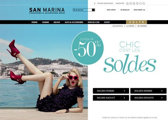 Soldes San Marina 2015