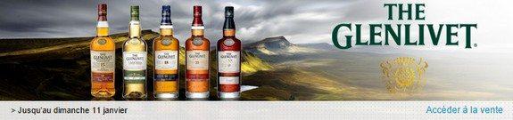 vente privee whisky glenlivet