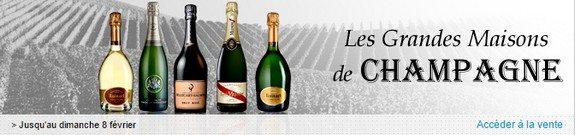 vente privee grandes maisons champagne