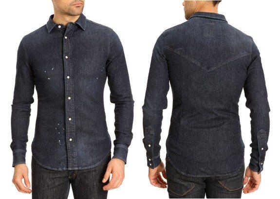 chemise denim g-star