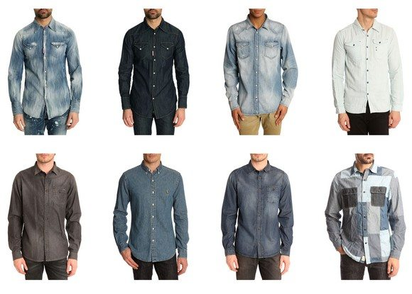 Les chemises en denim