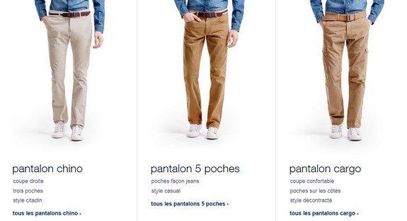 pantalons en promo chez celio mode pour homme blog. Black Bedroom Furniture Sets. Home Design Ideas