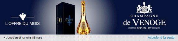vente privee champagne de venoge