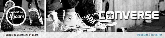 vente privee chaussures converse