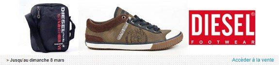 vente privee chaussures sacs diesel