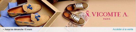 vente privee chaussures vicomte a
