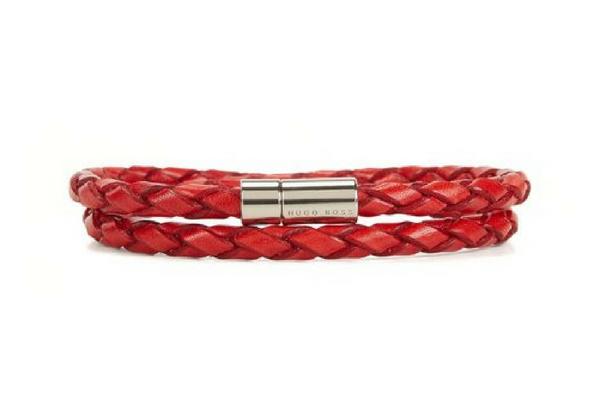 Bracelet rouge Hugo Boss soldes été 2018
