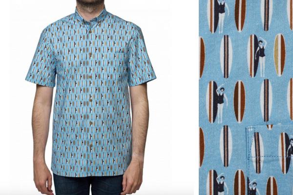 Chemise Niki manches courtes Atelier privée, pour les ventes privées été 2018