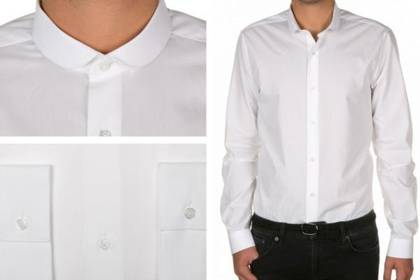 Chemise blanche d'Atelier Privée pendant les ventes privées de l'été 2018