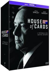 Coffret DVD des 4 premières saisons de House of Cards