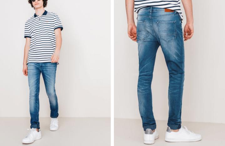 Jean skinny par La Gentle Factory Bizzbee