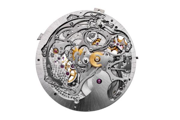 Des rubis sur le mécanisme des montres Vacheron Constantin
