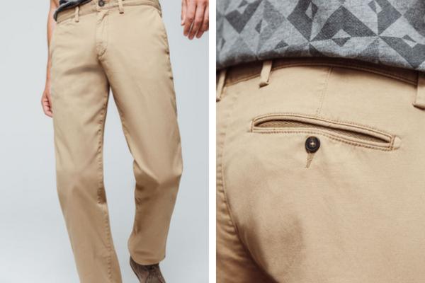 Pantalon beige Brice, soldes été 2018