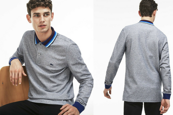 Polo fit manches longues Lacoste