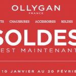 Les Soldes d'Hiver 2018 chez Ollygan !