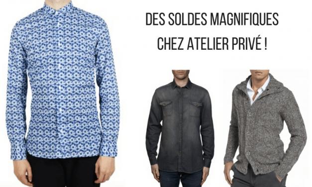 Notre Sélection Soldes d'Été 2017 chez Atelier Privé !