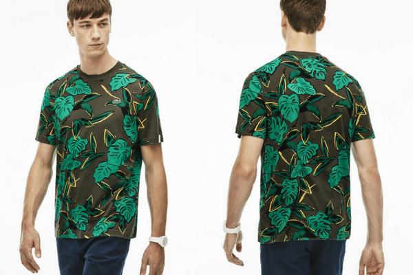 T-shirt tropical Lacoste