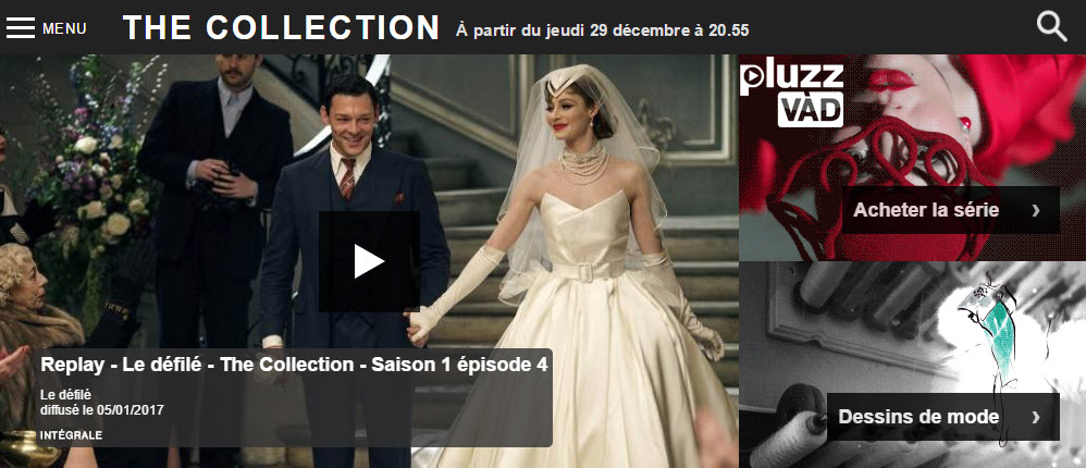 Monsieur-mode.com- France 3 série TV The Collection-Intro