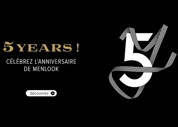 Les Collaborations Menlook pour fêter ses 5 ans