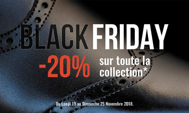 Black Friday sur les Chaussures Finsbury !!