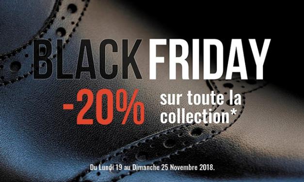 Black Friday sur les Chaussures Finsbury !!