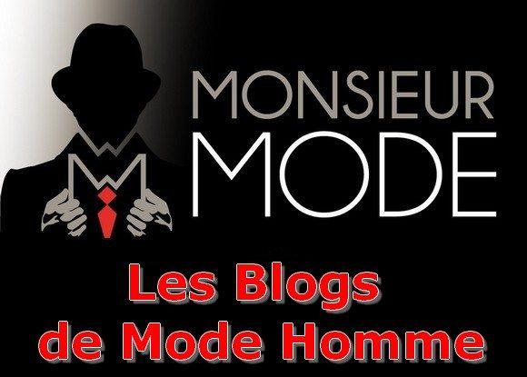 Les blogs de mode homme