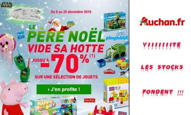 Les Jouets sont à prix cassés chez Auchan !!