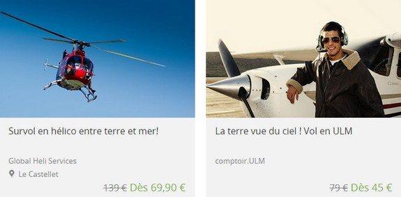 bon plan marseille avion helicoptere
