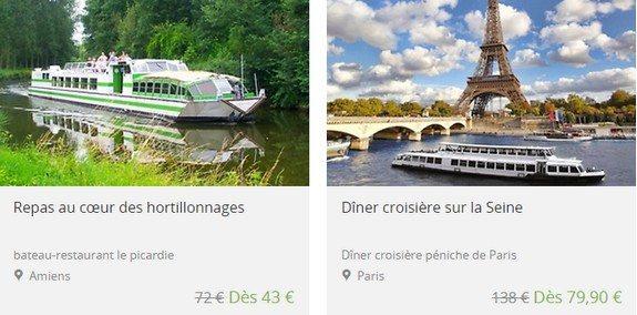 bon plan paris bateau restaurant croisiere