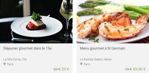 bon plan paris restaurant gastro