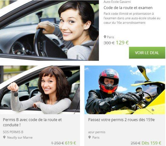 bon plan permis de conduire paris