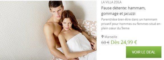 bon plan spa marseille villa zola
