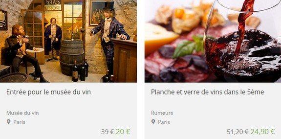bon plan vin paris