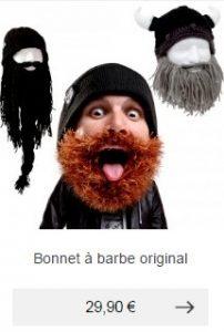 bonnet a barbe idee cadeau homme rigolo